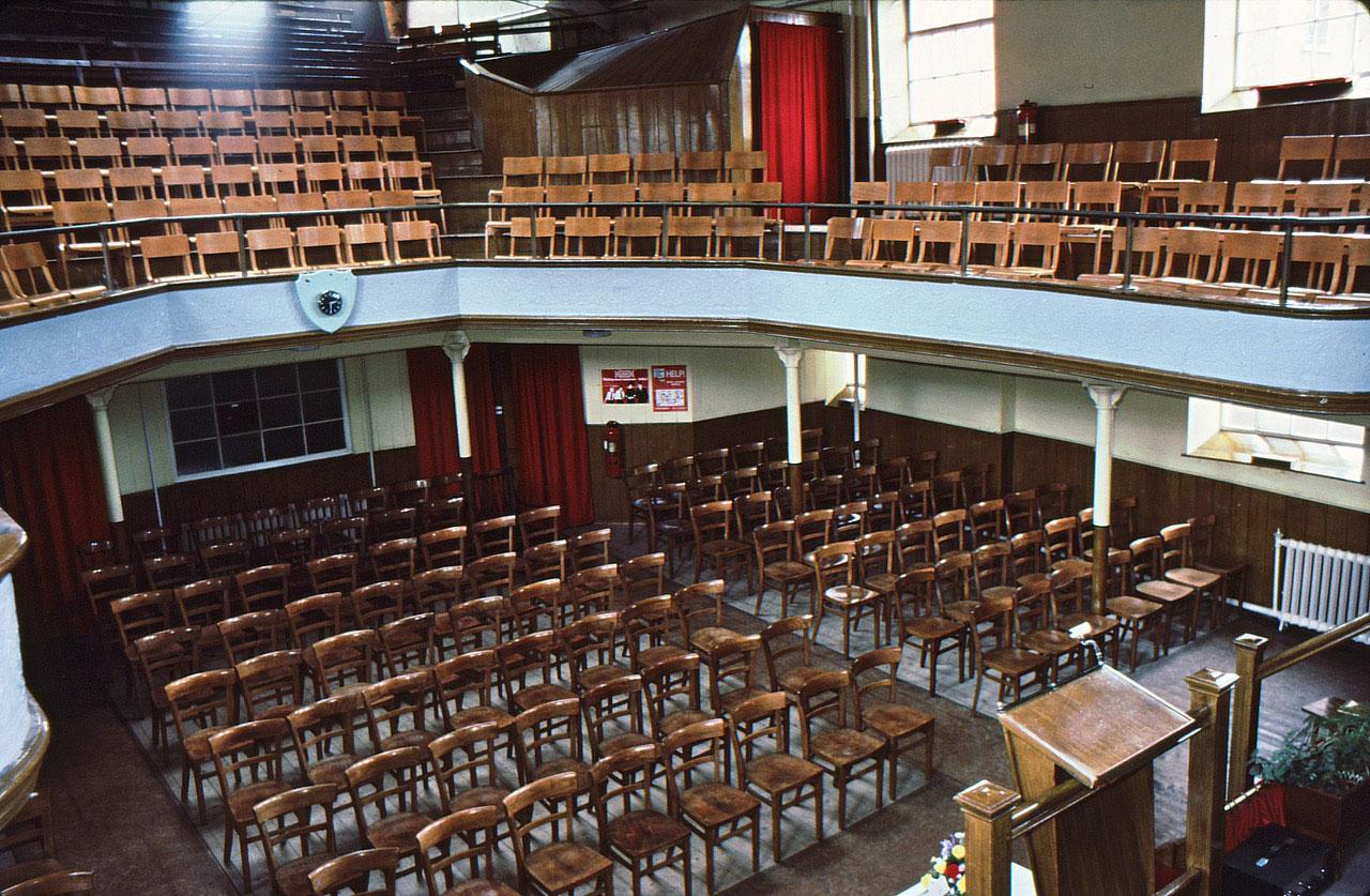 Interior of Ipswich Citadel, Tacket Street - The Salvation Army - Ipswich Citadel