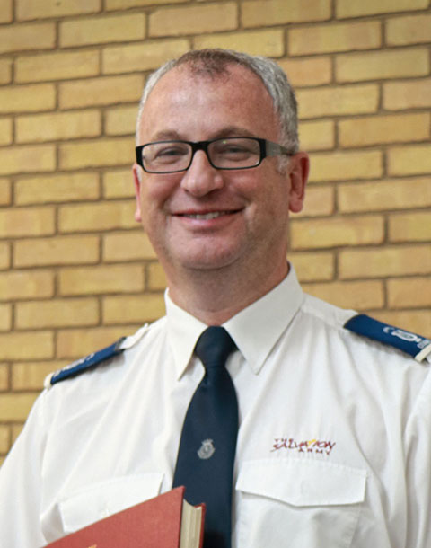 Andy Jacobs - The Salvation Army - Ipswich Citadel