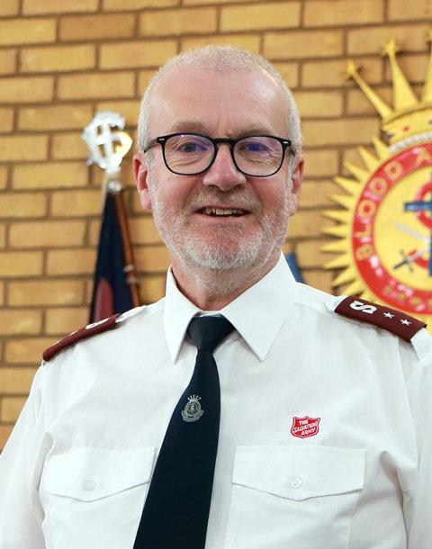 Captain Andrew Jarrold