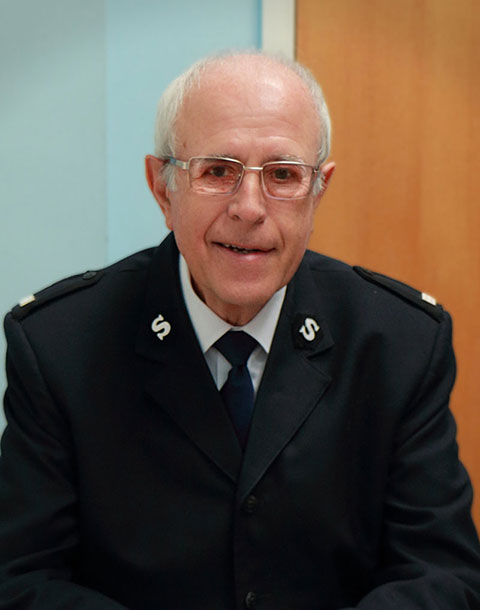 Ron Williams - The Salvation Army - Ipswich Citadel